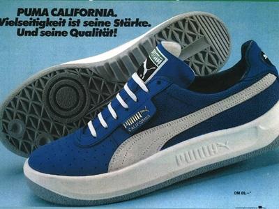 PUMA California from 1981