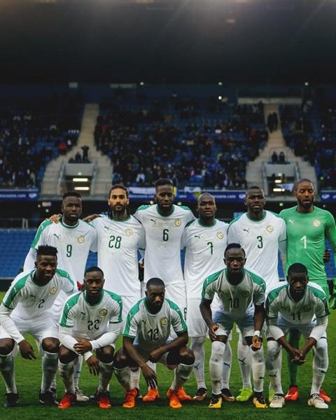 Fußballmannschaft Senegal